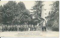CPA-70 - FOUGEROLLES - Le Monument - Place de La Gare, Vétérants Armées de terre