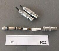 Lemo 1S Kabel Stecker    3 Stück         1-polig Lötanschluss   Nr FFA 1S.250
