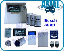 BOSCH ALARM Solution 3000 Kit 16 Zone 3 Wireless PIR 2 Remotes Free Programming