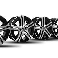 4x Mercedes Benz 20 Zoll Felgen GLS W167 X167 Alufelgen A1674014900 NEU