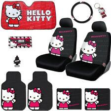 Neuf Hello Kitty Core Voiture HOUSSES F+R Tapis Plus Accessoires Set pour Jeep