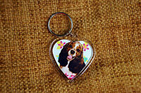 Cocker Spaniel Dog Keyring Dog Key Ring heart gift Birthday Mothers Day Gift