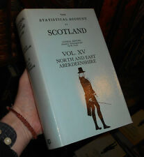 The Statistical Account of Scotland Vol XV - North & East Aberdeenshire - 1982