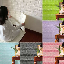 3D Wallpaper PE Foam DIY Wall Stickers Self-adhesive Embossed Brick Stone Panels
