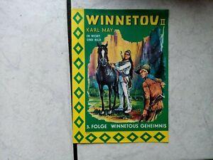 Winnetou II --in Wort und Bild- ein Kämpgen  Bilderheft  (60 er Jahre)  Folge 3