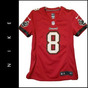 Nike NFL Women Jersey Tampa Bay Buccaneers #8 Glennon Red Size Small