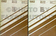 1982 Chrysler Repair Shop Manual Imperial NewYorker Cordoba Service Set