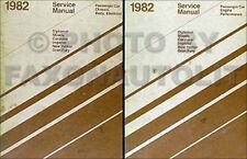 1982 Chrysler Repair Shop Manual Imperial NewYorker Cordoba Service Set