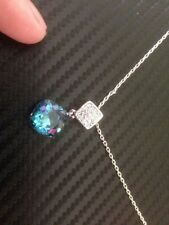 Cubic Zirconia Beauty Heart Costume Necklaces & Pendants