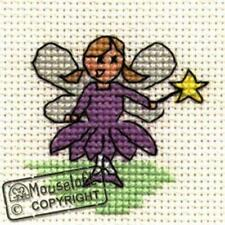 Mouseloft Mini Cross Stitch Kit - Fairy, Stitchlets Collection
