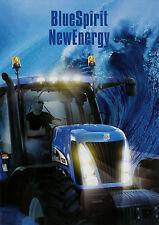 Prospekt New Holland TG Traktoren 6/02 2002 Broschüre Traktor Trecker brochure