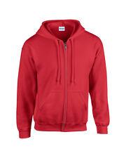 Gildan Men's Heavy Blend™ Adult Full Zip Hooded Sweatshirt -Plain zipped hoodie