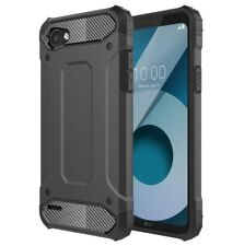 LG Q6 Shockproof Heavy Duty Armor Dual Layer Hard Cover Case