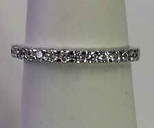 wedding ring Studded with high quality diamonds 14k white gold With certificate