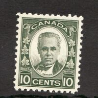 #190  Canada George I  - 1931 - 10 Cent stamp MH  -  VF - superfleas