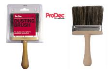 "ProDec 4"" Inch Dusting Brush Soft Grey Bristle Brush Decorators Painters 100mm"