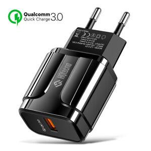 Caricabatterie USB da muro Quick Charge 3.0 Caricatore Rapido Ricarica Veloce 3A