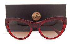 Brand New VERSACE Sunglasses VE 4381B 388/13 Burgundy/Brown Gradient For Women