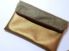 Gemusterte Damen-Clutch-Taschen aus Kunstleder