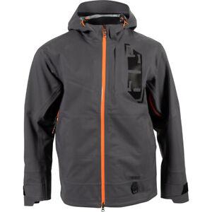 New 2021 509 Stoke Snowmobile Jacket Shell, Dark Ops, Gray, XXL, 2XL