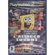 Spongebob : L'Attacco dei Toybots Playstation 2 PS2 Sigillato 4005209093767