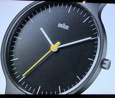 Braun Mens klassische dünne Armbanduhr Neuwertig TOP