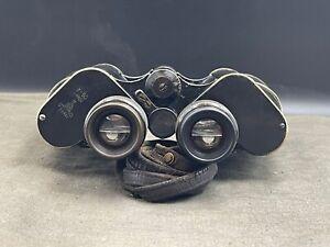 WW2 Extreme Rare Soviet navy binoculars with illuminated rangefinder reticle!