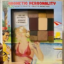 The balm magnetic personality magnetic palette new in box full size 0.58oz