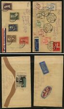 Netherlands   2  covers   with  labels  on  back      MS1128