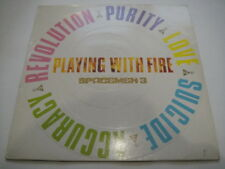 Spacemen 3 ‎– Playing With Fire LP First Press UK Embossed Cover INDIE 1989