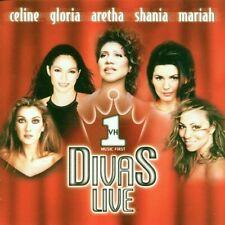 VH-1 Divas live (1998) Mariah Carey, Gloria Estefan, Shania Twain, Céline.. [CD]
