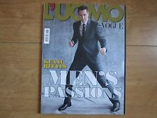 L'uomo Vogue Magazine Keanu Reeves New.