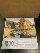"""Bits And Pieces Indian Summer 1500 Piece Puzzle New Sealed 24"""" x 33"""" no. 49141"""