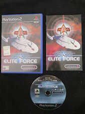 PS2 : STAR TREK VOYAGER : ELITE FORCE - Completo, ITA !