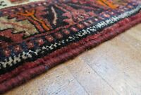Authentic  Wool RNRN-22 3'5'' x 9'10'' Persian Hamedan Rug