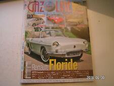 ** Gazoline n°157 4 CV décapotable / Ermini 357 / Audi 60 L / Renault Floride