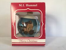 M. I. Hummel # 226 The Mail is Here By Goebel West Germany Xmas Glass Ornament