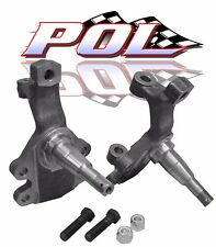 "2"" Drop Spindles, Original Disc Brakes Type for 67-69 Chevy Camaro"