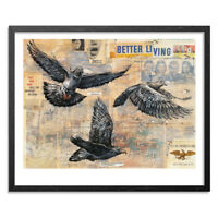 Better Living Ltd. Ed. Print by Ben Horton Signed and Numbered /50 W/ COA