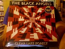 "The Black Angels Clear Lake Forest 12"" EP sealed clear vinyl + mp3 download"