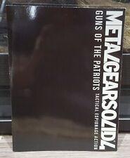 2008 Metal Gear Solid 4 Guns of the Patriots Original Promo Art Book Konami PS3