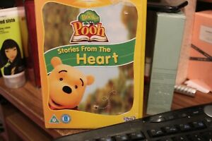 Winnie The Pooh - The Book Of Pooh - Stories From The Heart (DVD, 2002) used