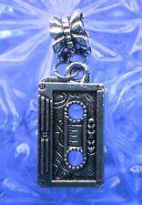 Supernatural Silver European Retro 80's Tape pendant Charm fits charm bracelet