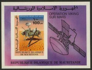 Mauritania C176 imperf MNH - Space, Mars, Viking lander