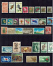 New Zealand Stamps Small collection of used and MH 3 Scans