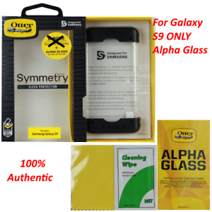 Genuine OtterBox Alpha Glass Series Screen Protector for Samsung Galaxy S9