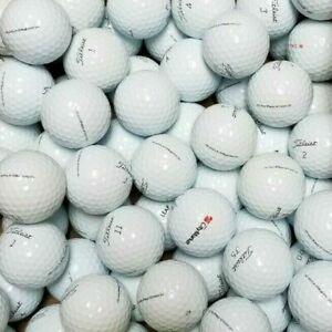 50 Titleist Pro V1 Practice Golf Balls - GRADE B / C LAKE BALLS