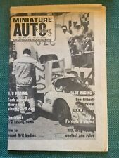 New ListingVintage Miniature Auto Racing Newspaper Magazine July 1971 Morrissey Rc1 Thorp