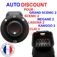 Bouton interrupteur  retroviseur Renault rabattable clio 3 Mégane 2 laguna 2