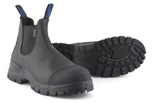Blundstone 910 Mens Pull On Chelsea Safety Work S3 Steel Toe/Midsole Boots